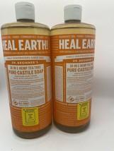 Dr Bronner's Pure Castile Liquid Soap 18-in-1 Tea Tree 32 oz 2 Pack Orga... - $34.60
