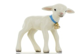 Hagen Renaker Miniature Lamb Large with Bell Ceramic Figurine image 1