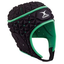 Gilbert Ignite Headguard - Black/Green (Large) image 2