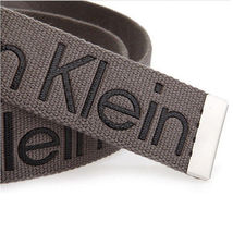 New Calvin Klein Men's Premium CK Logo Cotton Adjustable 38mm Canvas Belt 73545 image 14