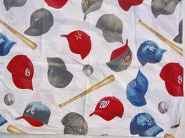 Pottery Barn MLB Baseball Caps Std Pillowcase National League Team Sports  - $12.00