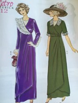Butterick Sewing Pattern 6093 Misses Dress Retro 1912's Size 14-22 New V... - $17.86