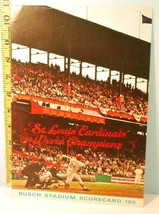 1965 St. Louis Cardinals Baseball Program Scorecard v Phillies  #Bb - $34.65