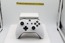 Xbox One/S/X 1708 Controller w/Soft Touch White Face Plate - Mod Available - $55.43