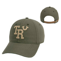 True Religion Men's TR Embroidered Vintage Baseball Cap Sports Strapback Hat image 1