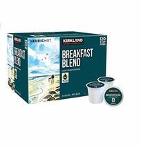Kirkland Signature Breakfast Blend K-cup, 120 Count - $54.40