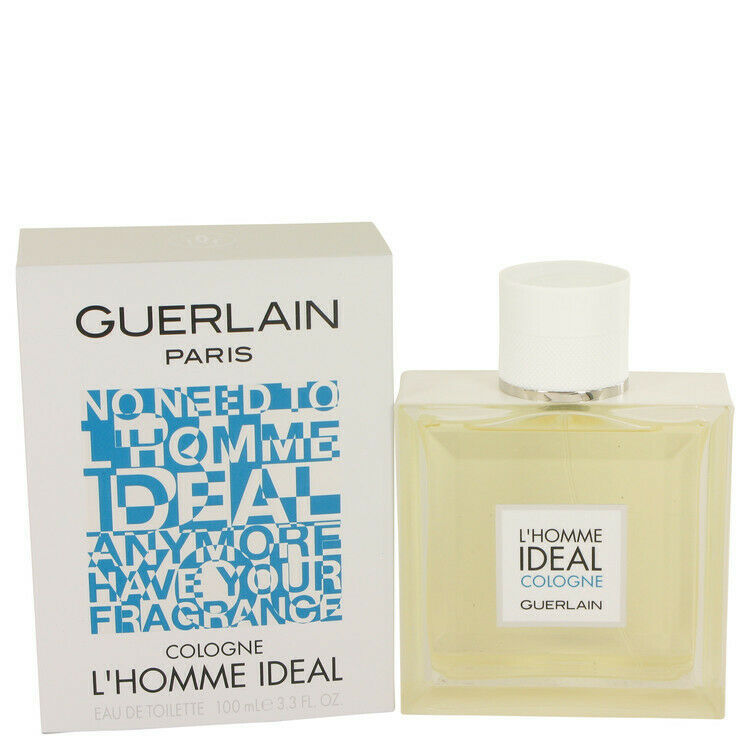 L'homme Ideal Cologne by Guerlain Eau De Toilette Spray 3.3 oz for Men
