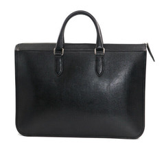 BURBERRY tonal check type press leather briefcase bag - $443.23