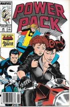 Power Pack Comic Book #46 Marvel 1989 VERY FINE- NEW UNREAD - $2.75