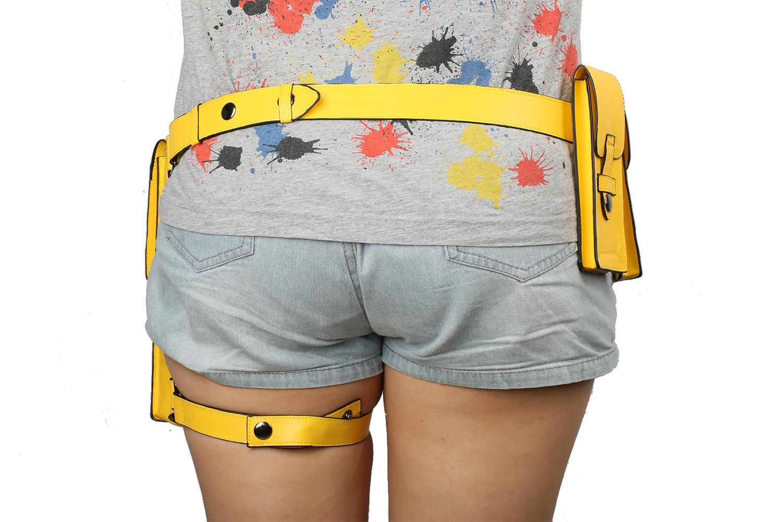 XCOSER Batman Batgirl Belt PU Leather Belt /& Holster Cosplay Props Accessories