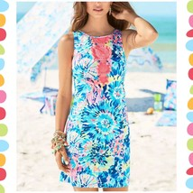 NWT NEW LILLY PULITZER Adara Shift Dress Dive In Size 0 $198 - $98.99
