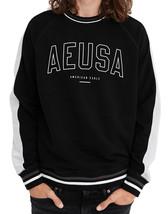 American Eagle Mens 1159001 Reflective Graphic Sweatshirt, Black, S, 3715-8 - $54.44