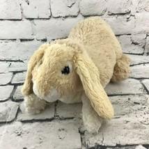 Folkmanis Bunny Rabbit Plush Hand Puppet Cream Light Tan Shaggy Stuffed Toy - $19.79