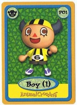 Boy 1 P01 Animal Crossing E-Reader Card Nintendo GBA - $9.99