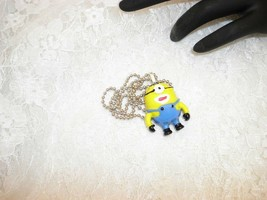 Handmade Resin MINIONS Resin Cabochonl Pendant Necklace Ball Chain/Jewelry - $8.42