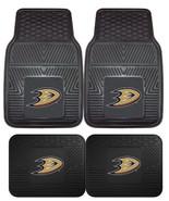 Anaheim Ducks Car Mats 2Pc or 4Pc Front & Rear Heavy Duty Vinyl - $37.99+