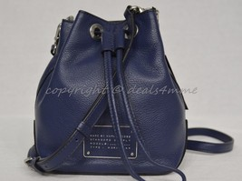 NWT MARC By Marc Jacobs M0007214 Small Drawstring Bag in Amalfi Coast-Da... - $199.00