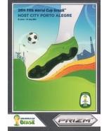 2014 Panini World Cup Prizm World Cup Posters #8 Porto Alegre NM-MT - $6.23
