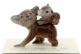 Hagen-Renaker Miniature Ceramic Figurine Koala with Baby on Back