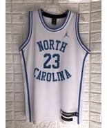 Vintage Nike MICHAEL JORDAN #23 UNC North Carolina Tar Heels Jersey Size M - $98.01