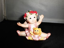 Dreamsicles Angel Ring Jewelry Holder Collectible Figurine Gift Set of 6... - $18.65