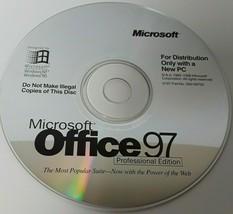 Microsoft Office 97 Professional Edition CD - $9.52