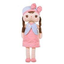 "Pretty Rag Doll for Kids Plush Toys Angela Rag Doll 15.7"" H Pink Dress - $31.23"