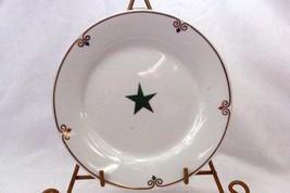 Pier 1 Celebration Green Star Accent Salad Plate - $6.23