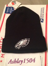 1 NWT Philadelphia Eagles NFL Beanie Hat Youth One Size FREE SHIPPING  - $15.00