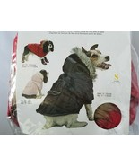 Everest Snow Dog Parka Fashion Pet Collection Dog Coat Jacket Winter Red... - $35.05