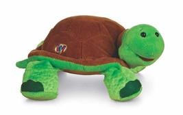 Turtle Webkinz Green Turtle Brown Shell Beanbag Plush Stuffed Toy No Cod... - $5.93