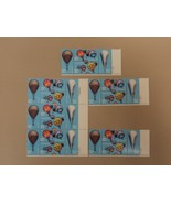 USPS Scott 2032-2035 20c 1982 Balloons Lot of 4 Plate Block 24 Stamps Mi... - $20.24