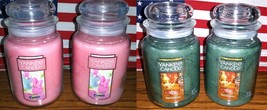 2 Yankee Candle 22 oz Large Jar Candles Peeps OR Patchouli Lot of TWO-Choice New - $33.27