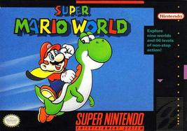 Super Mario World (Super Nintendo, SNES) - Reproduction Video Game Cartridge wit - $49.99