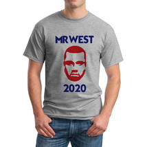 Tee Bangers Mr West Men's Grey T-shirt NEW Sizes S-2XL - $14.84+