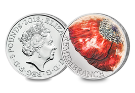 Remembrance Day UK Brilliant Uncirculated Coin 2018 - $33.92