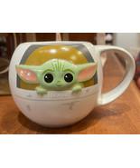 Disney Parks Star Wars The Mandalorian The Child Ceramic Mug NEW - $32.00