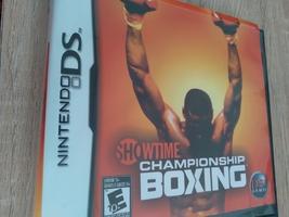 Nintendo DS ShowTime Championship Boxing image 1