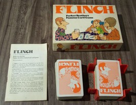 Parker Brothers 1976  FLINCH CARD GAME Complete 1970's - $14.85