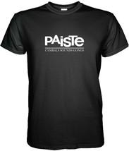 Paiste Logo Tshirt Size S, M, L, Xl, 2XL, 3XL - $14.90+