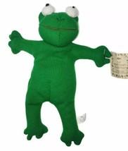 "RARE Russ Berrie 9"" Frugs Bean Bag Frog Plush Stuffed The Heartcraft Col... - $81.67"
