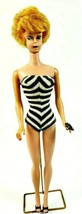 Vintage Barbie bubble Cut Mattel (Japan) 1968 With Bathing Suit, Shoes &... - $43.53