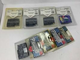 Lot of 8 Brother P-Touch Tape Cassette bundle TZ221 Tz131 TZ241 TZ641 TZ344 - $36.35