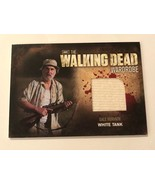 Cryptozoic Walking Dead Season 2 Wardrobe Jeffrey DeMunn as Dale M8 - $17.82