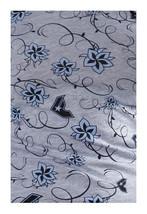 Famous Stars & Straps Womens Heather Grey Blue Flower Swing Set Girls T-Shirt image 1