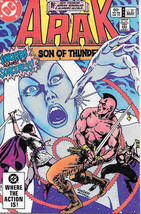 Arak Son of Thunder Comic Book #21 DC Comics 1983 NEAR MINT NEW UNREAD - $3.50
