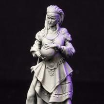 Mage - Beautiful - Woman - Ancient - 3D - Printed HQ - Resin Miniature - Unpaint - $14.99