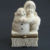 Department 56 Snowbabies I Love You Hinged Box 68867  - $14.84