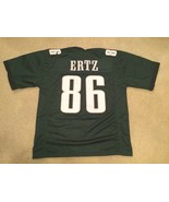 Men's Unsigned Custom Sewn Stitched Zach Ertz green Jersey - Any Size - $39.99