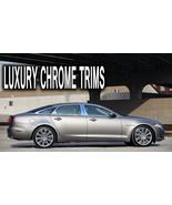 Jaguar XJ XJ-L Stainless Steel Chrome Pillar Posts by Luxury Trims 2010-... - $76.38
